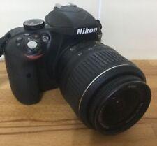 Nikon D D3300 24.2MP Fotocamera Reflex Digitale-Nero con 18-55 Af-S Vr kit lenti)