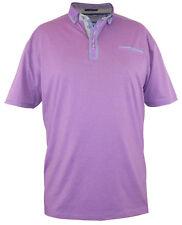 HALE D555 Button Down Woven Double Collar S/S Polo Shirt