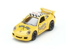 Porsche 911 997 Carrera S Coupe Racing Yellow Driving School Siku 1457 1:55