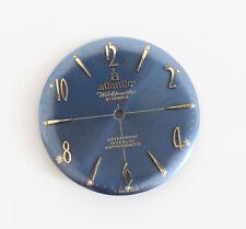 Seltene NOS Atlantic Worldmaster 21 Jewels Swiss Made Blau Zifferblatt für Unita...