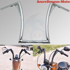 "Chrome 1-1/4"" King Ape 16"" Hanger 25mm Handlebars For Motorcycle 1"" Bars"