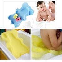 Sponge Pad Baby Shower Bath Mat Bathtub Mat Newborn Bath Non-slip Bath Cushion