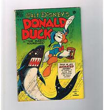 FOUR COLOR (V2) #291 Grade 5.0 Gold Age find starring Walt Disney's Donald Duck!
