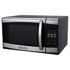 BRAND NEW Black Decker 0.9cu FT 900watt Microwave Oven Stainless Steel