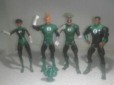 "DC universe classics Green Lantern lot of 4 Medphyll,john Stewart,Tomar,Katma 7"""
