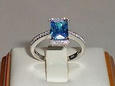 Topaz Engagement Eternity Fine Rings
