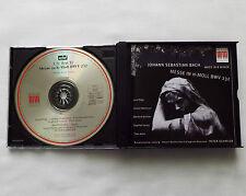 BACH/Peter SCHREIER/L.POPP/C.WATKINSON/..Mass in B minor 2CD box BERLIN Classics