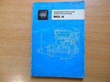 Parts catalogue Teile Katalog Volvo Penta MD 4 Reservdelskatalog