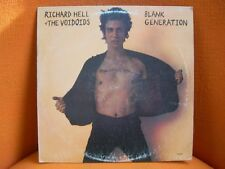 VINYL 33T – RICHARD HELL & VOIDOIDS : BLANK GENERATION – PUNK US ORIGINAL 1977
