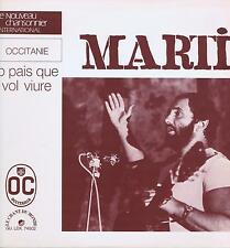 LP FRANCE OCCITANIA MARTI LO PAIS QUE VOL VIURE LE CHANT DU MONDE