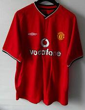 """Manchester United Camiseta Oficial Grande Pecho 44"""" 112 cm Vodafone"""