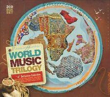 World Music Trilogy 3CD-BOX New, (Joao Gilberto, Caetano Veloso, N Sawhney