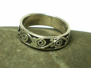 Unisex  Sterling  Silver  925   RING  -  Size: W  -  Gift  Boxed
