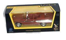 1958 Edsel Citation, Light Brown, 1:43 Scale - Road Signature Collection
