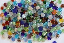 550 Pcs Mixed Color Glass Gems, Pebbles, Mosaic Tiles, Nuggets