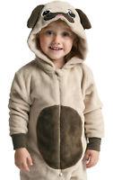 Boys or Girls PUG 0nesie Animal Costume BEST QUALITY Kids Age 2 - 13