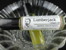 LUMBERJACK Men's Cologne Oil, Roll On Cologne, Cedarwood Sandalwood Fragrance