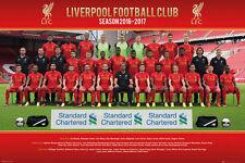 Poster LIVERPOOL FC - Team Photo 2016/17  ca90x60cm NEU!!  58901 ger