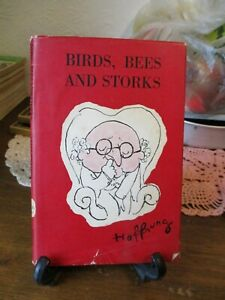 Birds, Bees and Storks by Gerard Hoffnung (Dennis Dobson 1st edition 1960) DJ