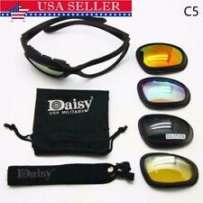 Daisy C5 Military Tactical Motorcycle Riding Sunglasses Glasses Eyewear US