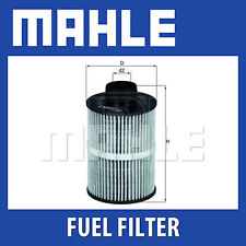 Mahle Fuel Filter KX208D - Fits Fiat, Peugeot, Vauxhall - Genuine Part