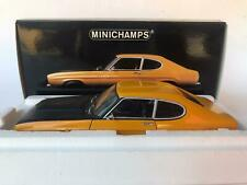 Minichamps Ford Capri 2600 RS yellow 1970 1/18 RARE 180089070