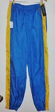 NEW Ralph Lauren Wmn Track Wind Yoga Pants Blue Gold Yellow NWT $59 sz L Zipper
