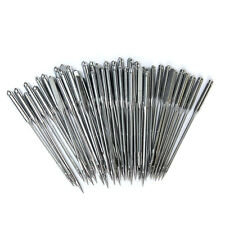 100 Pcs Home Sewing Machine Needles 11/75,12/80,14/90,16/100,18/110 for Singer