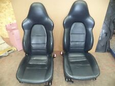 PORSCHE 911 996 / BOXSTER 986 SPORTS SEATS METROPOLE BLUE SEATS WK51 KFN
