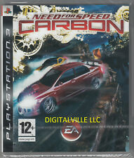 Need for Speed Carbon PS3 Sony PlayStation 3 Brand New Factory Sealed NFS Racing