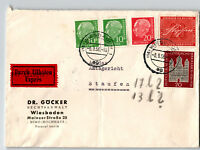 Germany 1956 Express Cover to STAUFEN w/ Better / Light Fold - Z13190