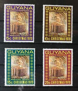 Guyana 1970 25th Anniversary of United Nations SG527/530 - MNH