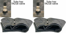 TWO 18.4-24 19.5L-24 21LR-24 Tractor  Backhoe Tire Inner Tubes Heavy Duty Tr-218
