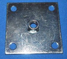 Heavy Duty Leg Leveler Mounting Plate For Arcade Games and Other Equip