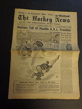 The Hockey News August 15, 1951 Vol.4 No.34 Dickie Moore, Chuck Conacher Aug '51