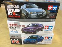 TAMIYA NISSAN SKYLINE GT-R R32 R33 R34 R35 Z-Tune 24145 24210 24300 24341 24090