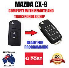 MAZDA CX-9 CX 9 CX9 REMOTE KEYLESS ENTRY FLIP KEY 2007 - 2015