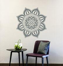 Mandala Wall Decal Egyptian Culture Patterns Flower Flora Vinyl Home Decor Ml152