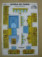 CUT-OUT POSTCARD MODEL KIT - OPERA DE PARIS - ARCHITECTURE MODELISME