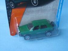 Matchbox VW Volkswagon Golf Country DARK Green Body Toy Model Car 70mm