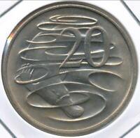 Australia, 1967 Twenty Cents, 20c, Elizabeth II - Uncirculated