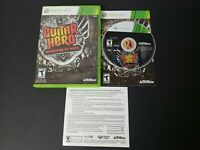 Guitar Hero: Warriors of Rock (Microsoft Xbox 360) Complete CIB VGC