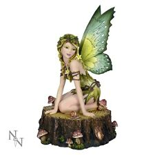 NEMESIS NOW *FIRA* LARGE FAIRY & TOADSTOOL FIGURE/ORNAMENT  BRAND NEW & BOXED