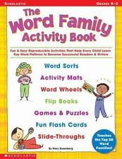 The Word Family Activity Book: Fun & Easy Reproducible Activities That Help Eve