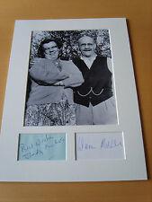 Till Death Us Do Part - genuine autograph / UACC  AFTAL
