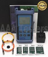 EXFO FOT-92A SM MM OPM Fiber Optic Power Meter FOT-90A FOT 92A OPM
