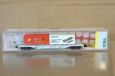 MINITRIX 13933 DB FLAT WAGON with VW & SIEMENS CONTAINER MINT BOXED np
