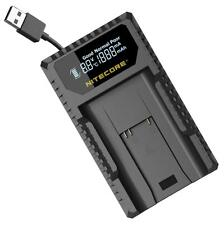 Nitecore ULM9 USB Digital Travel Charger for Leica M Series BLI-312 Batteries