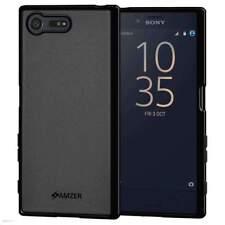 Premium Black Slim Soft Skin Gel TPU Case Back Cover For Sony Xperia X Compact