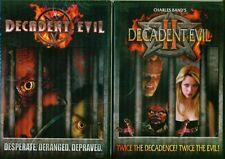 DECADENT EVIL 1 & 2: Charles Brand Vampire Classics - NEW 2 DVD